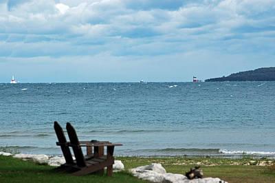 Photograph - Mackinac Relaxing by LeeAnn McLaneGoetz McLaneGoetzStudioLLCcom