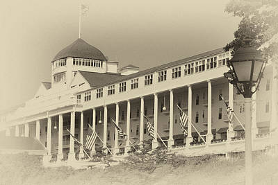 Photograph - Mackinaw Hotel by Coby Cooper