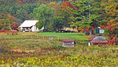 Photograph - Mack's Farm In The Fall by Duane McCullough