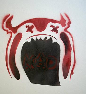 Mad O Rama Painting - Mad O Rama Flamin Red by Patricia Arroyo
