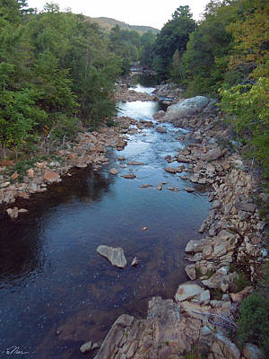 Photograph - Mad River In Campton New Hampshire by Nancy Griswold