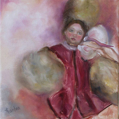 Painting - Madame Alexander Cisette Doll by Susan Hanlon