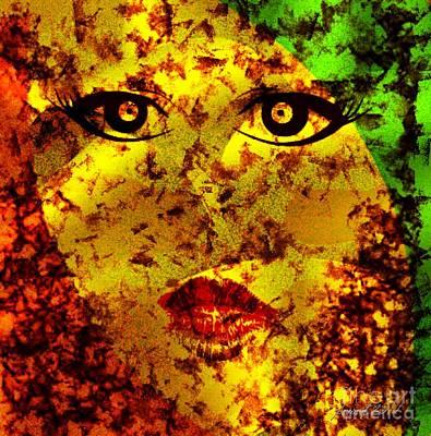 Madame Soleil Art Print by Fania Simon