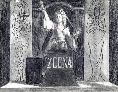 Madame Zeena Art Print