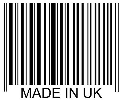 Photograph - Made In Uk Barcode by David Freund
