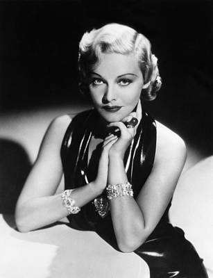 Cocktail Ring Photograph - Madeleine Carroll, 1936 by Everett