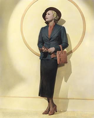 Madeleine Carroll, 1938 Art Print by Everett