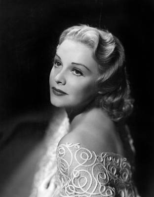 11x14lg Photograph - Madeleine Carroll, Paramount Pictures by Everett