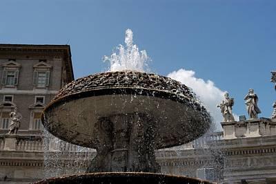 Maderno's Fountain Art Print