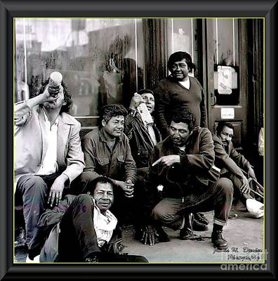 Photograph - Madison Ave Boys by James  Dierker