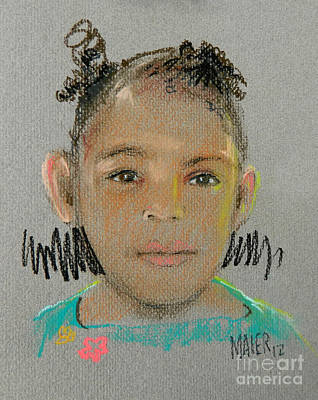 Drawing - Madison by Donald Maier