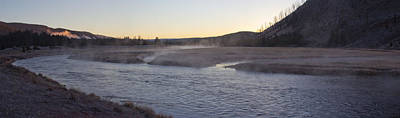 Yellowstone Wall Art - Photograph - Madison River Sunrise by Twenty Two North Photography