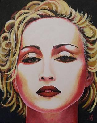 Painting - Madonna - Bonita by Anne Gardner