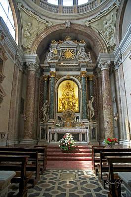 Photograph - Madonna Altar by Cheri Randolph