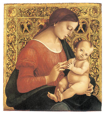 Madonna And Child Art Print by Luca Signorelli