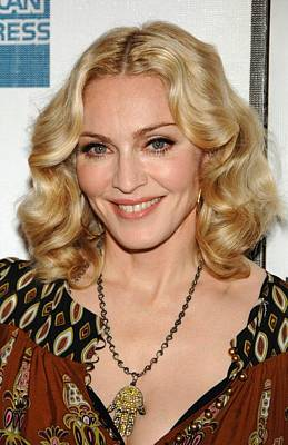 Madonna Wearing A Gucci Dress Art Print