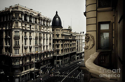 Photograph - Madrid View by RicharD Murphy