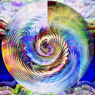 Digital Art - Maelstrom by Barbara Berney