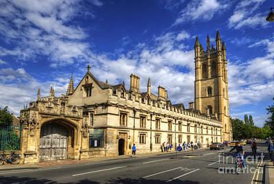 Photograph - Magdalen College - Oxford by Yhun Suarez