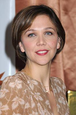Eyes Of A Child Photograph - Maggie Gyllenhaal At A Public by Everett
