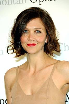 Metropolitan Opera House At Lincoln Center Photograph - Maggie Gyllenhaal At Arrivals by Everett