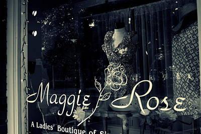Maggie Rose Art Print by Wendy Mogul