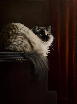Painting - Maggie The Magnificent by Laurie Tietjen