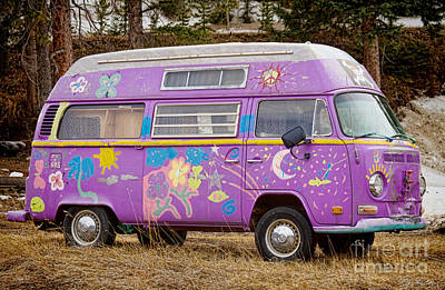 Photograph - Magic Bus by James BO  Insogna