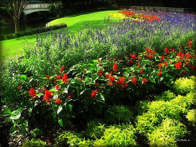 Photograph - Magic Kingdom Garden by Joan  Minchak