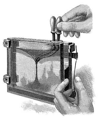Magic Lantern Photograph - Magic Lantern Display, 19th Century by