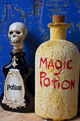 Magic Potion Art Print by Garry Gay