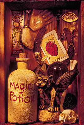 Magic Things Art Print by Garry Gay