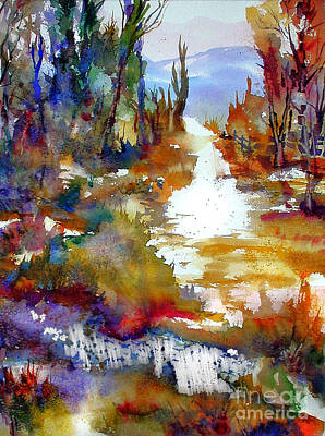 Painting - Magic Trail by John Mabry