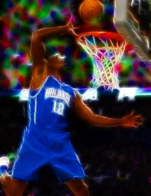 Magical Dwight Howard Art Print by Paul Van Scott