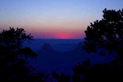 Photograph - Magical Evening - Grand Canyon by Ellen Heaverlo