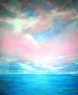 Painting - Magical Indian Ocean  by Marie-Line Vasseur