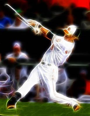Oriole Drawing - Magical Oriole by Paul Van Scott