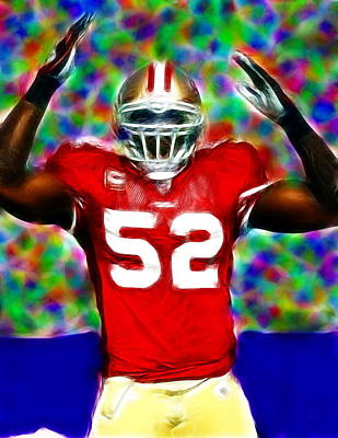 Magical Patrick Willis Art Print by Paul Van Scott