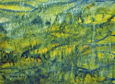 Magical Rainforest Art Print by Sharon Farber