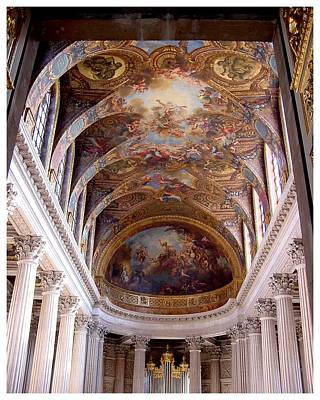 Photograph - Magnificent Ceiling Of The Kings Chapel by Frank Wickham