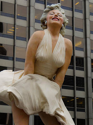 Photograph - Magnificent Marilyn by Julia Wilcox