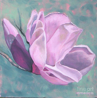 Painting - Magnolia 4 by Joan McGivney