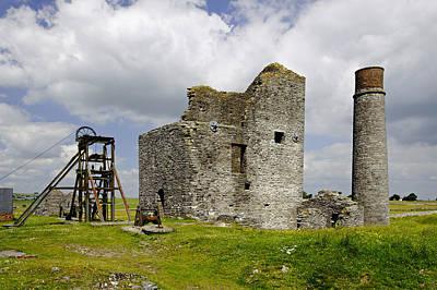 United Kingdom Photograph - Magpie Mine - Sheldon In Derbyshire by Rod Johnson