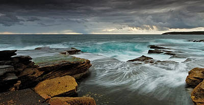 Maroubra Photograph - Mahons' Swirls by Mark Lucey