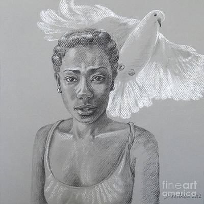 Drawing - Maiden Peace by Kathryn Donatelli