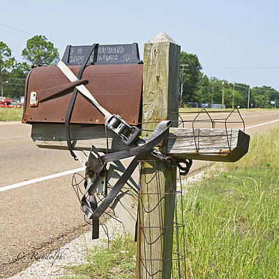 Photograph - Mailbox Security by Cheri Randolph