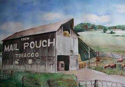 Mailpouch Art Print by David Ignaszewski