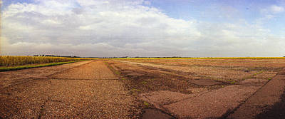 Main Runway Raf Rattlesden Original by Jan W Faul
