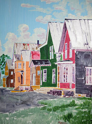 Painting - Main Street Andover by Randall Rickards