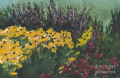 Painting - Maine Blooms by Lynn Babineau